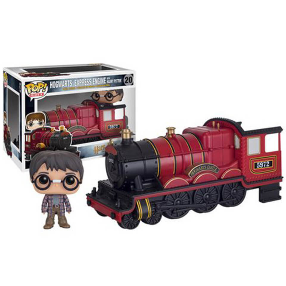 Harry Potter Hogwarts Express Vehicle mit Harry Potter Funko Pop! Figur