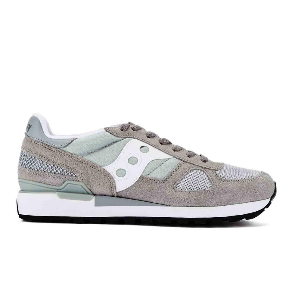 separation shoes e0e79 66776 Saucony Men s Shadow Original Trainers - Grey White   FREE UK Delivery    Allsole