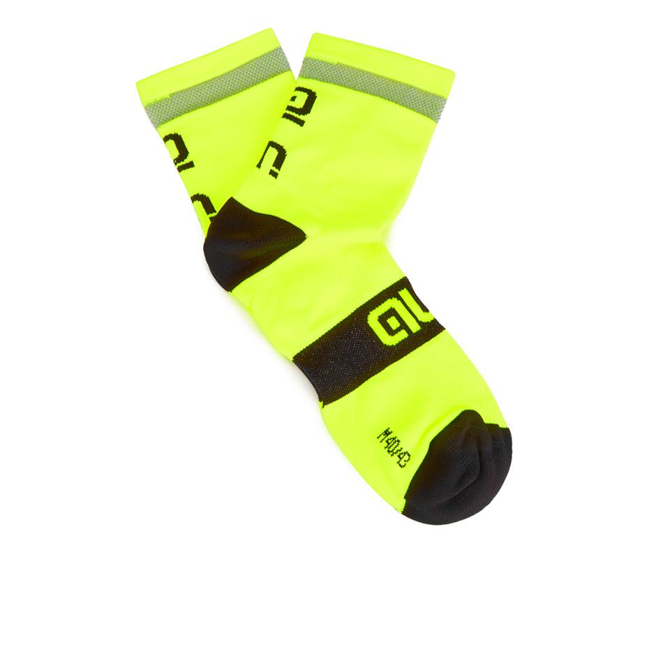 ale-reflex-10cm-cuff-cycling-socks-yellowblack-m