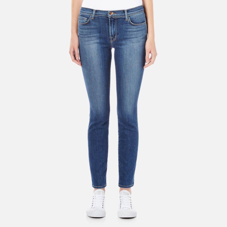 J Brand Womens Mid Rise 811 Skinny Leg Jeans Imagine W26/l30