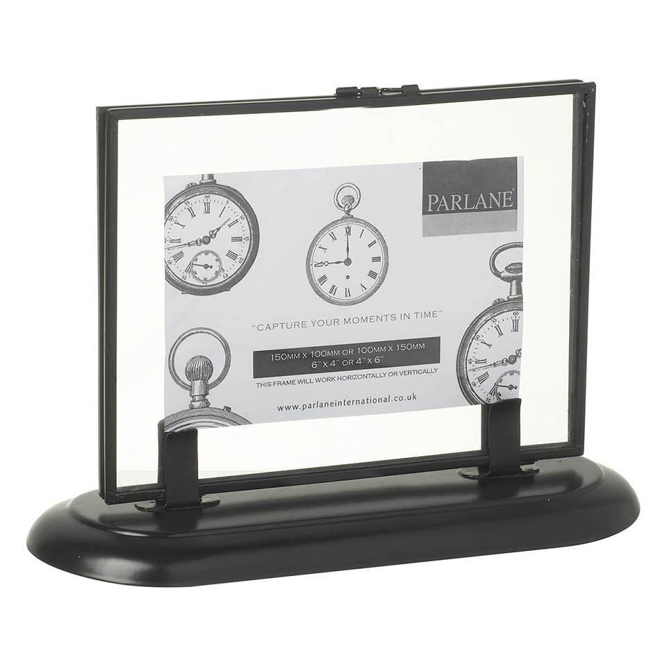 parlane-glass-photo-frame-with-stand-black-250-x-180mm