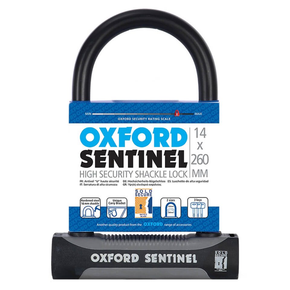 oxford-sentinel-plus-u-lock-260mm