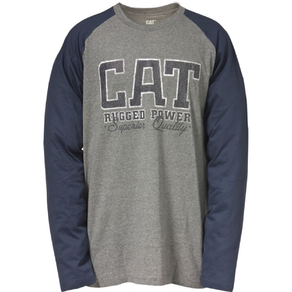 caterpillar-men-rugged-baseball-t-shirt-grey-m