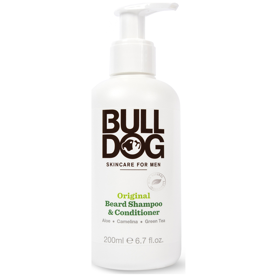 Köpa billiga Bulldog Original 2-in-1 Beard Shampoo and Conditioner 200ml online