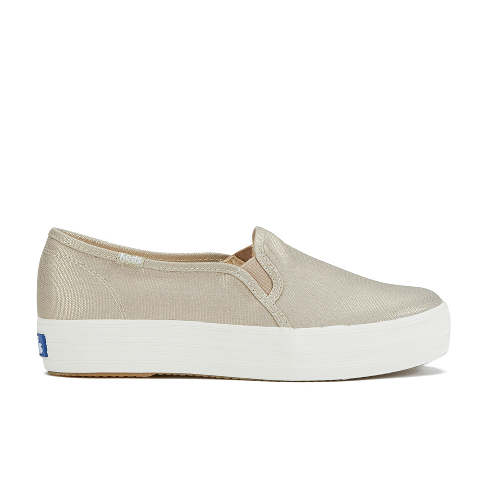 keds-women-triple-metallic-deckers-canvas-slip-on-trainers-gold-3