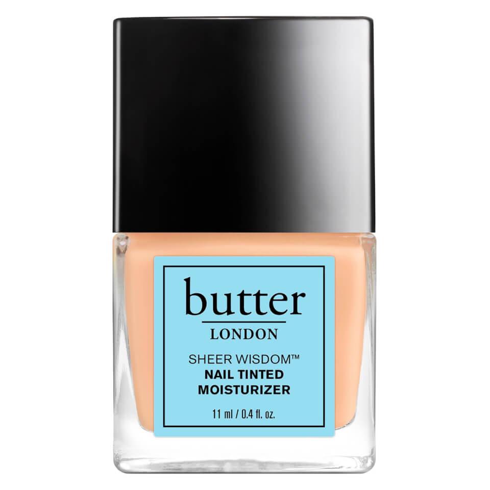 Hidratante para Uñas con Color Sheer Wisdomde butter LONDON 11 ml - Claro