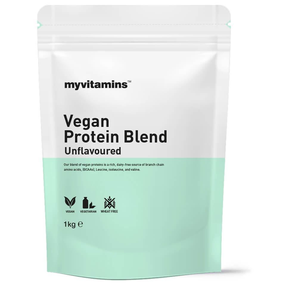 Vegan Protein Blend - 1KG - Pouch - Unflavoured