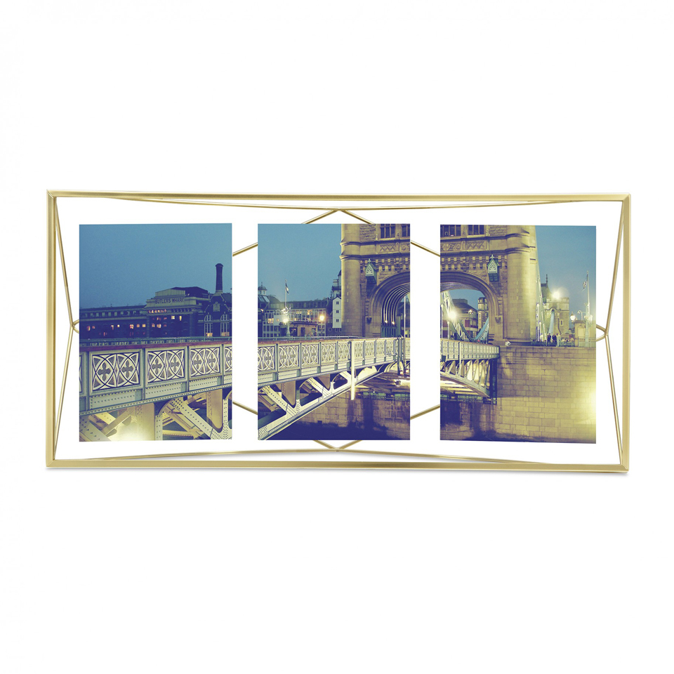 umbra-prisma-multi-three-photo-frame-matte-brass