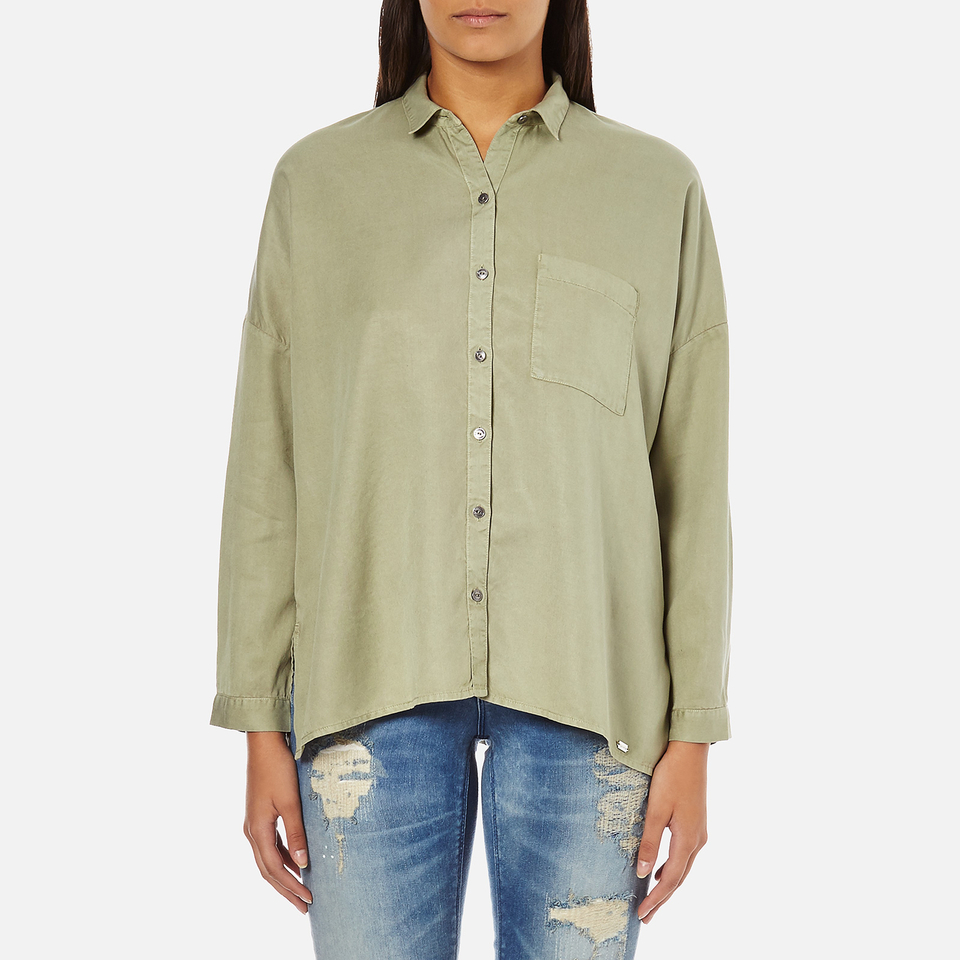 superdry-women-tencel-delta-shirt-salt-wash-khaki-s