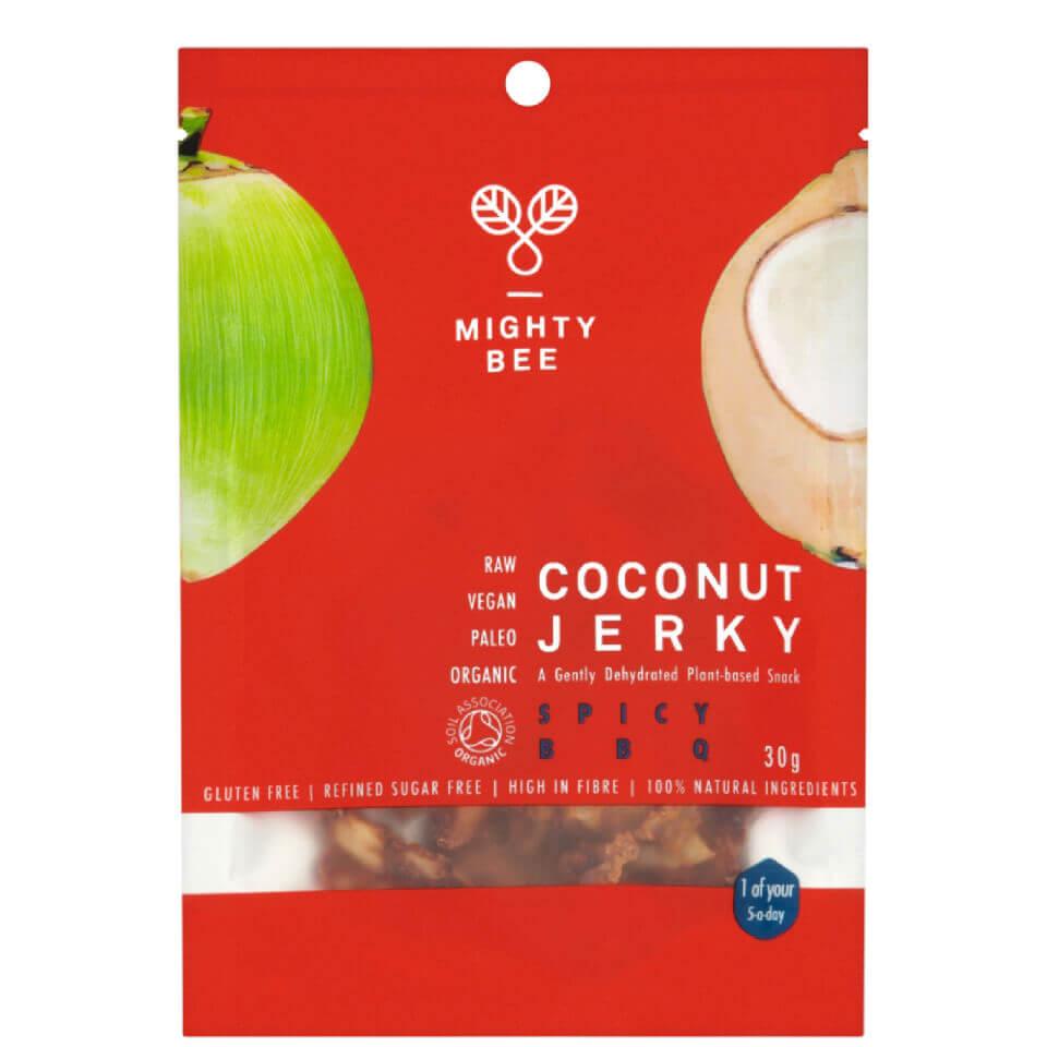 Buy Mighty Bee Organic Coconut Jerky Spicy Bbq