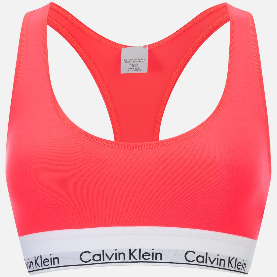 98fd70b1131b8 Calvin Klein Women s Modern Cotton Bralette - Bright Nectar