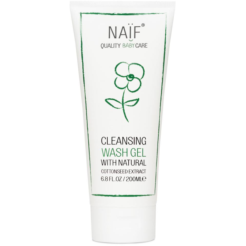 Gel lavant nettoyant pour bébé NAÏF(200 ml)