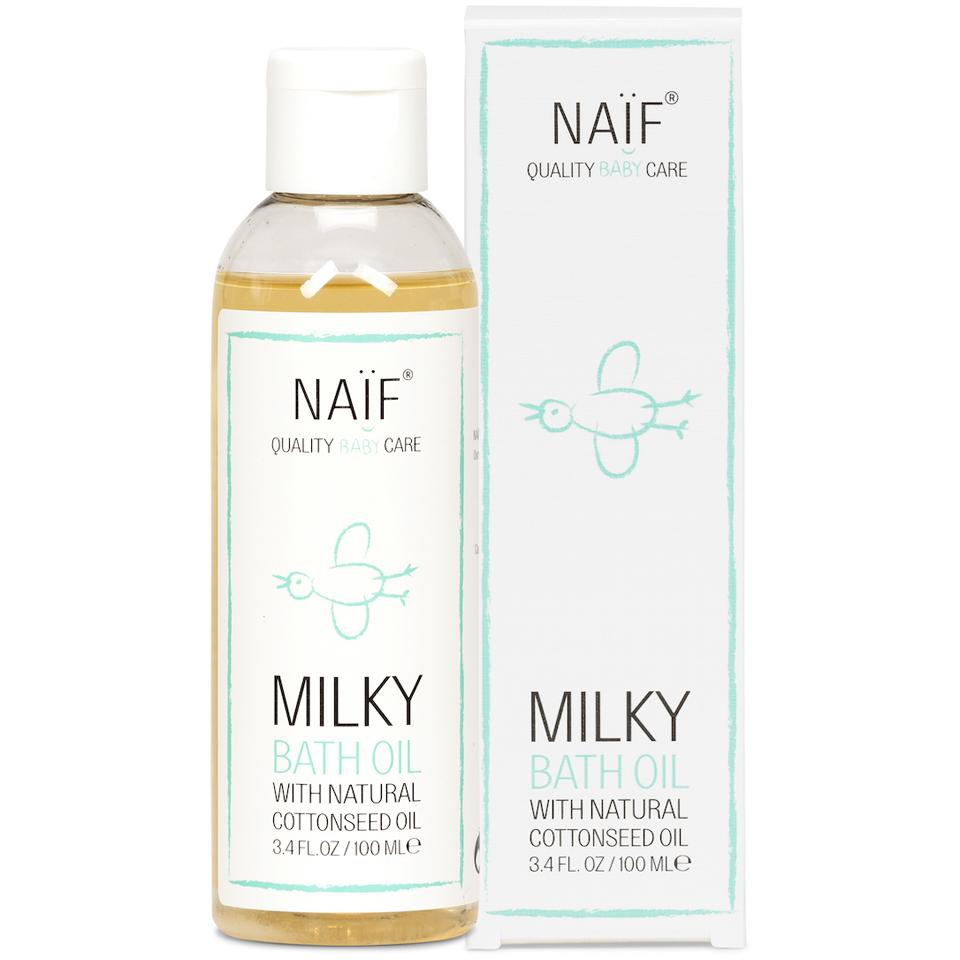 Huile de bain calmante pour bébé NAÏF(100 ml)