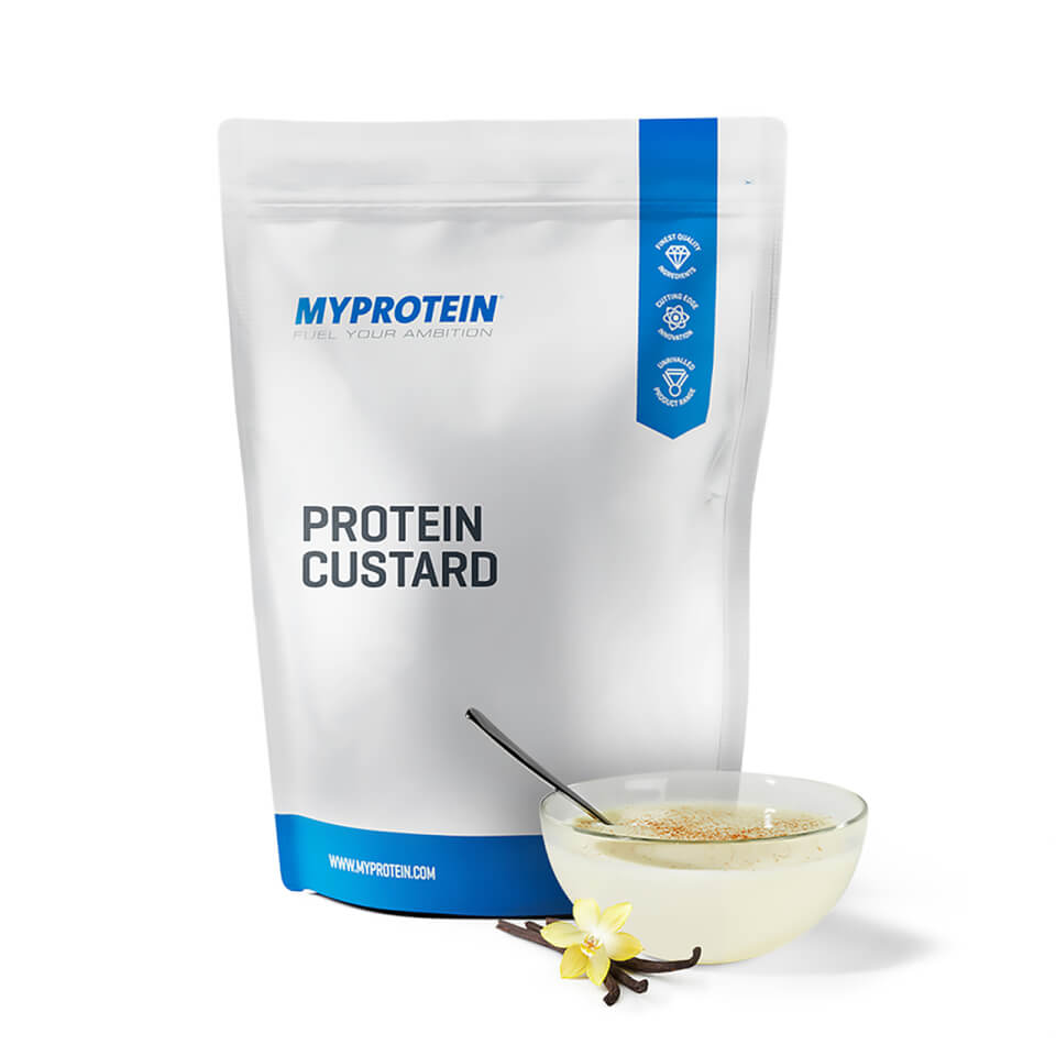 Foto Protein Custard - Vanilla - 500g Myprotein Nutrizione sportiva