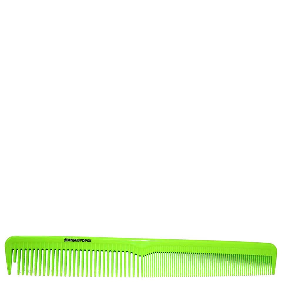 denman-precision-cutting-comb-lime-green