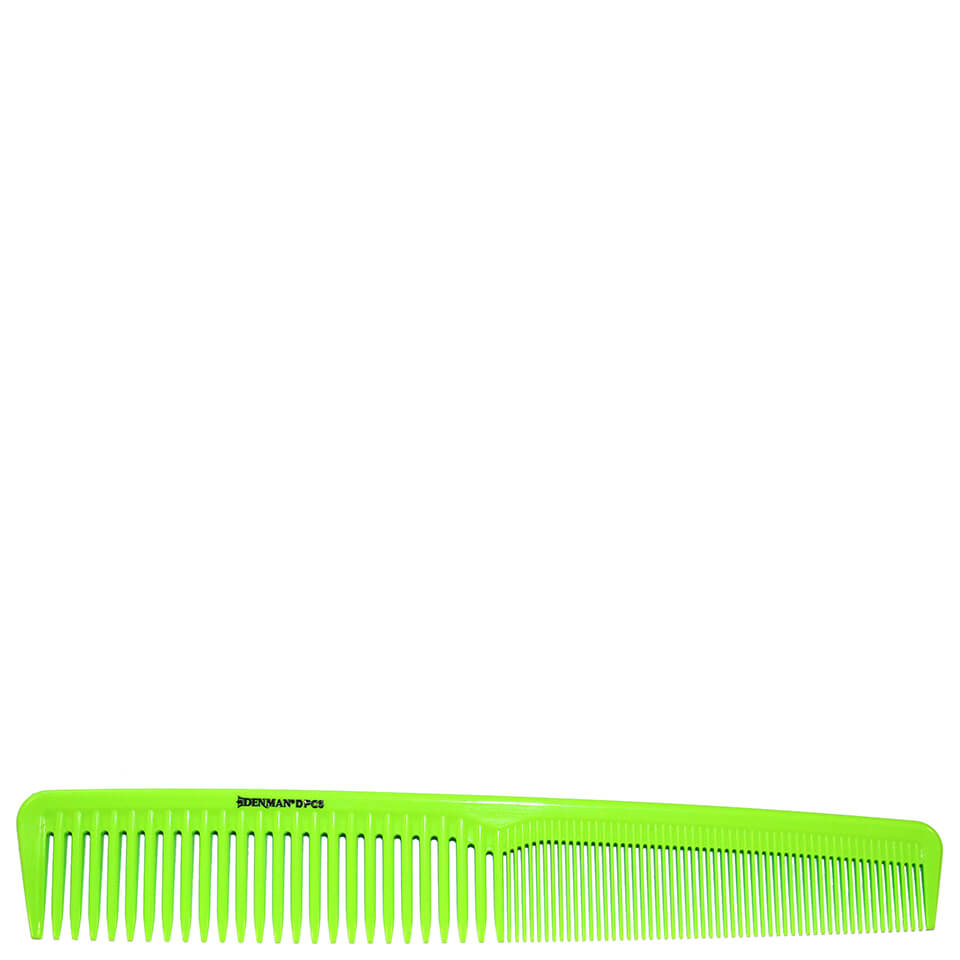 denman-precision-waver-comb-lime-green