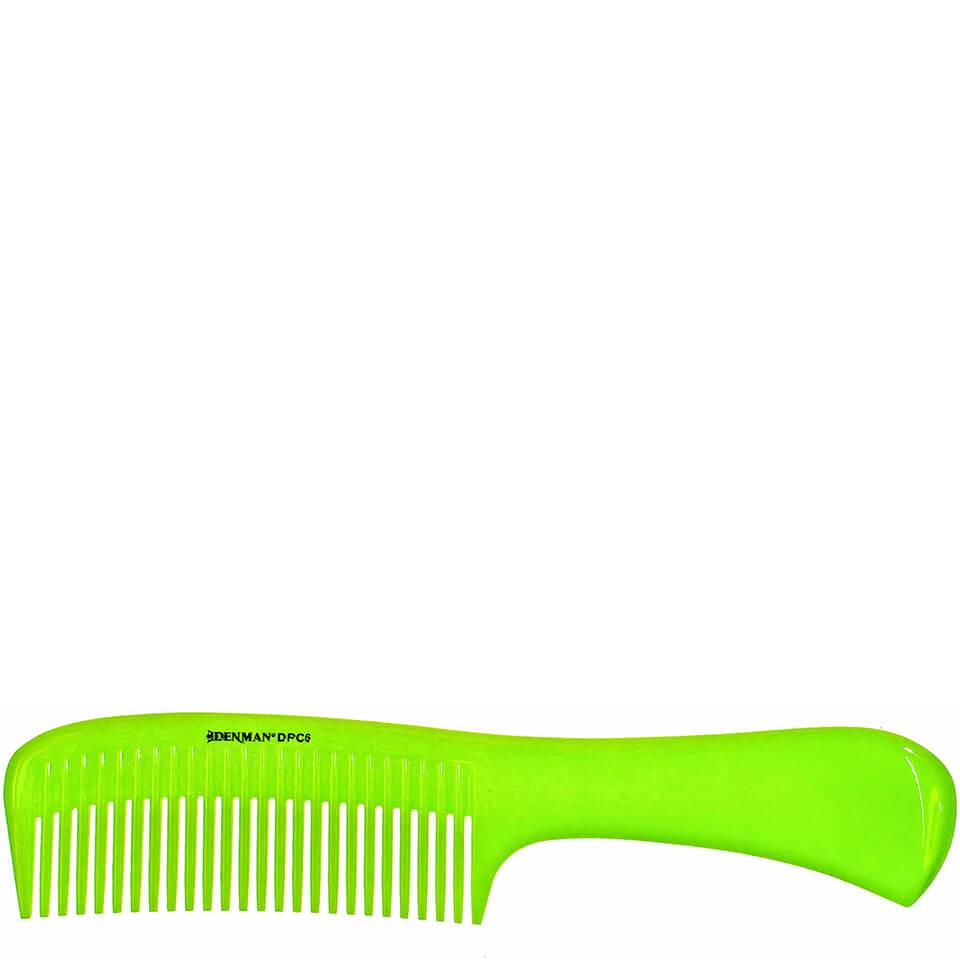 denman-precision-rake-comb-lime-green