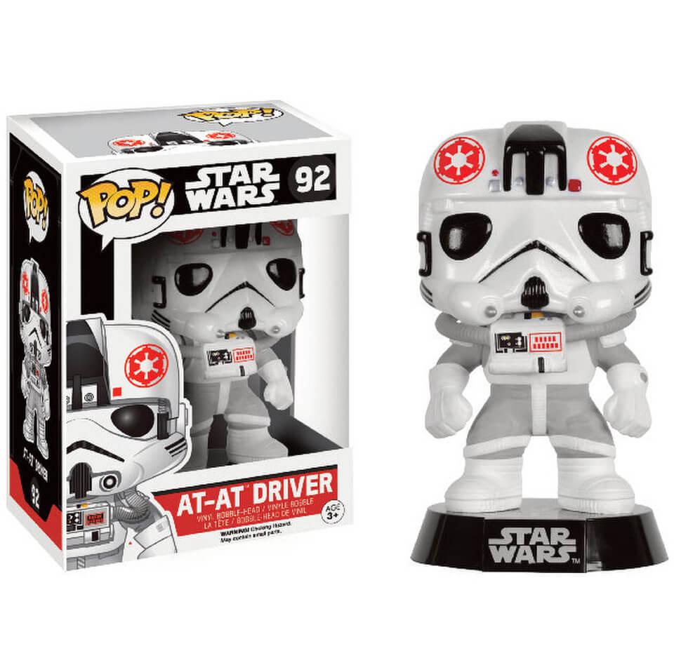 Star Wars (Exc) AT AT Driver Funko Pop! Figur