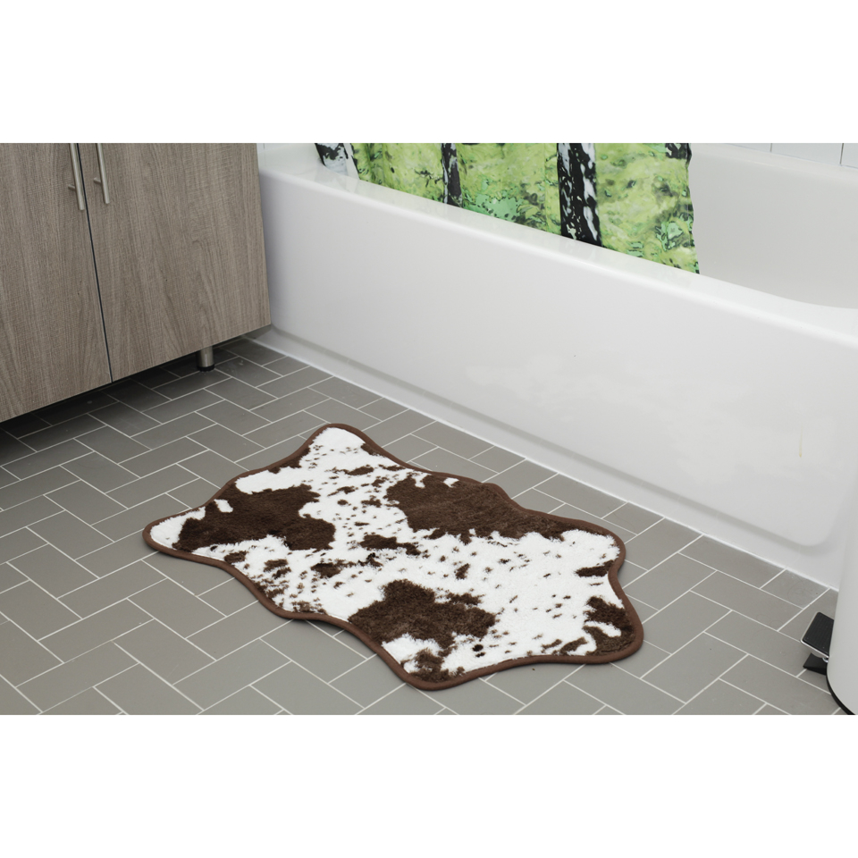 cowhide-bath-rug-brown