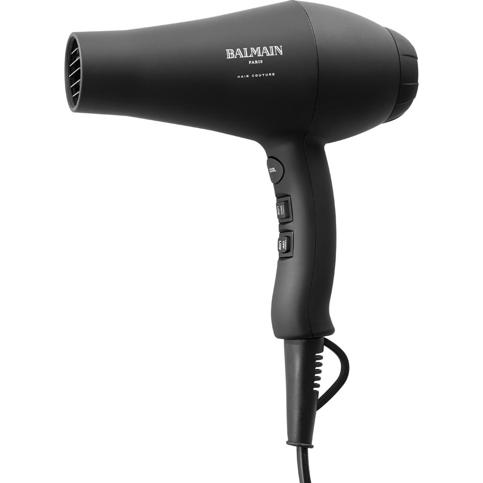 Balmain Hair Infrared Hair Dryer Black Free Shipping