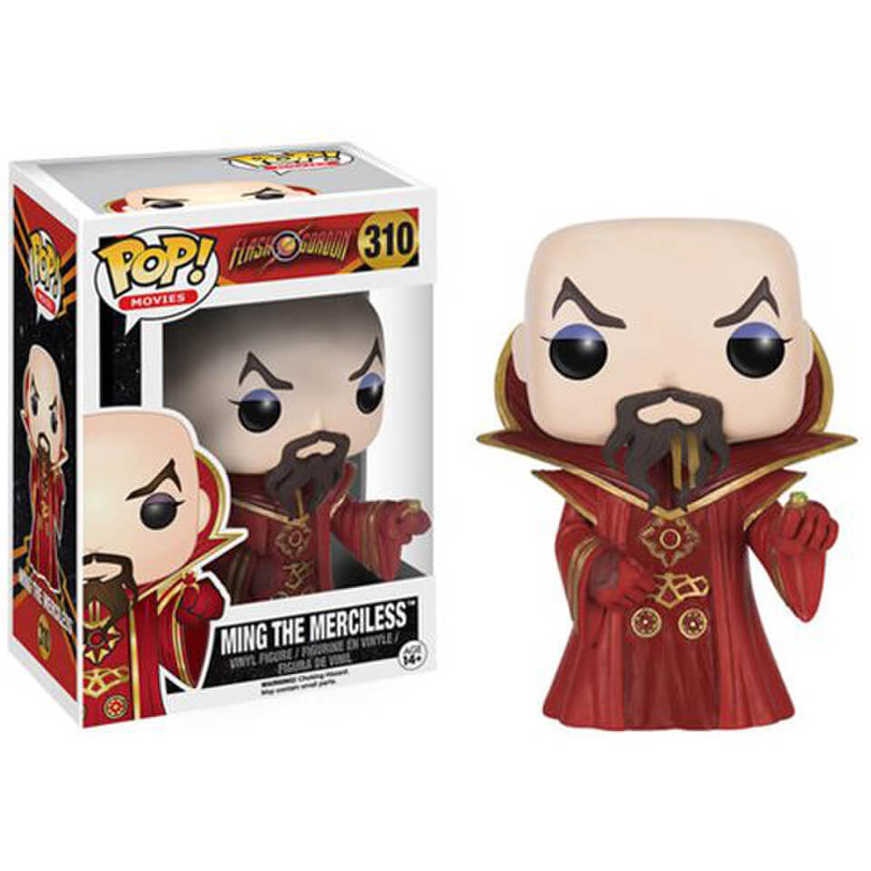 Figura Funko Pop! Emperador Ming el Merciless - Flash Gordon