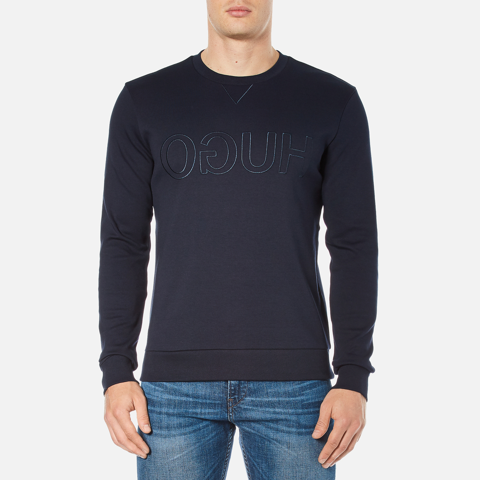 hugo-men-dapone-logo-crew-neck-sweatshirt-navy-l