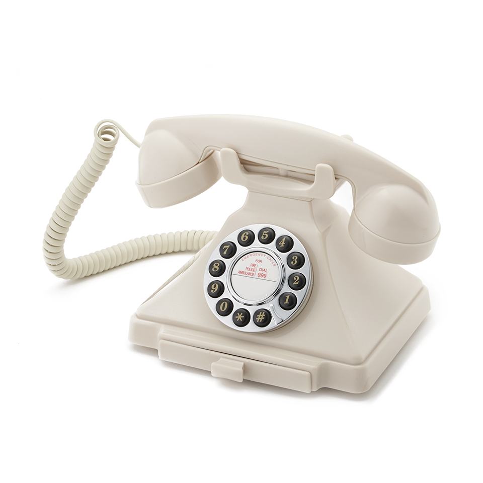 GPO Retro 1929S Classic Carrington Push Button Telephone - Ivory