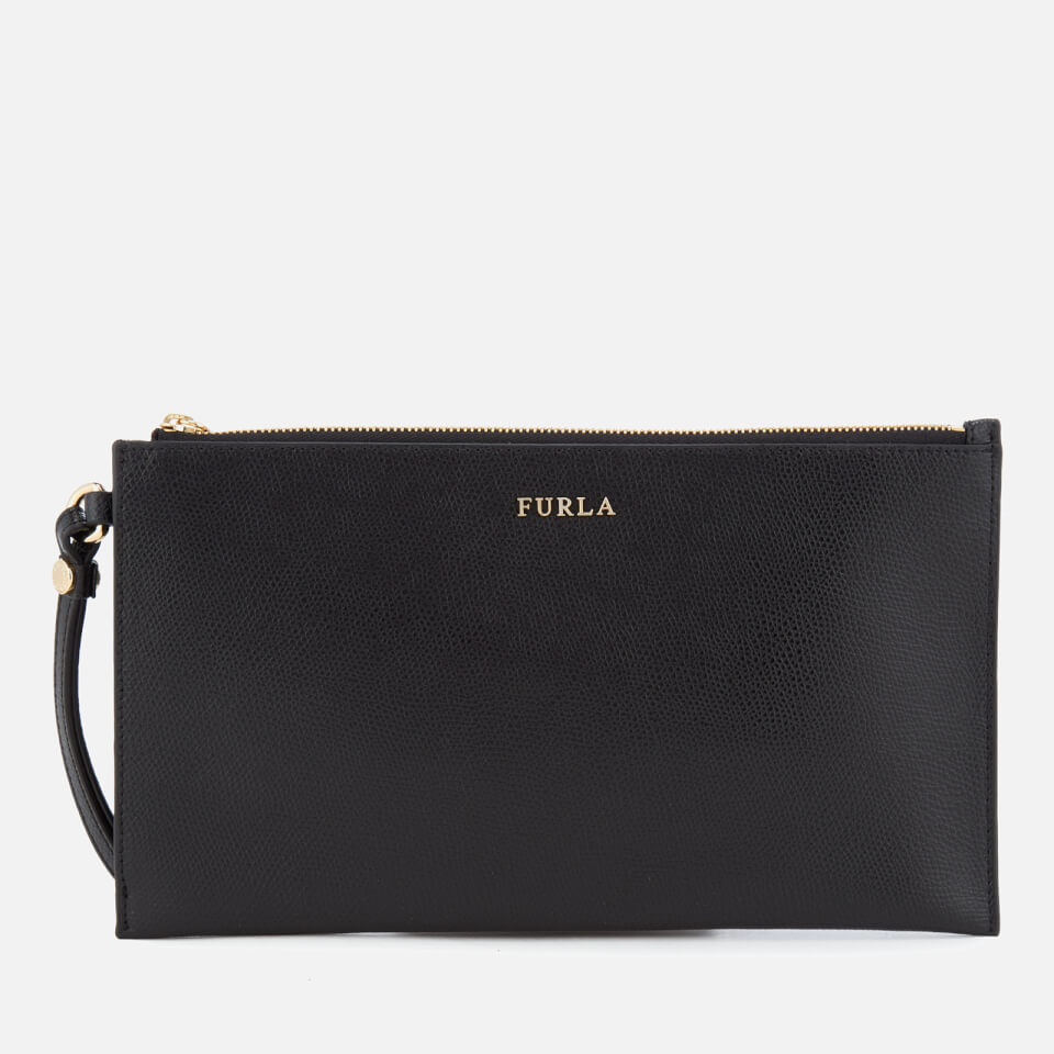 f0c4d6ebf7f2 Furla Women s Babylon XL Envelope Clutch Bag - Black