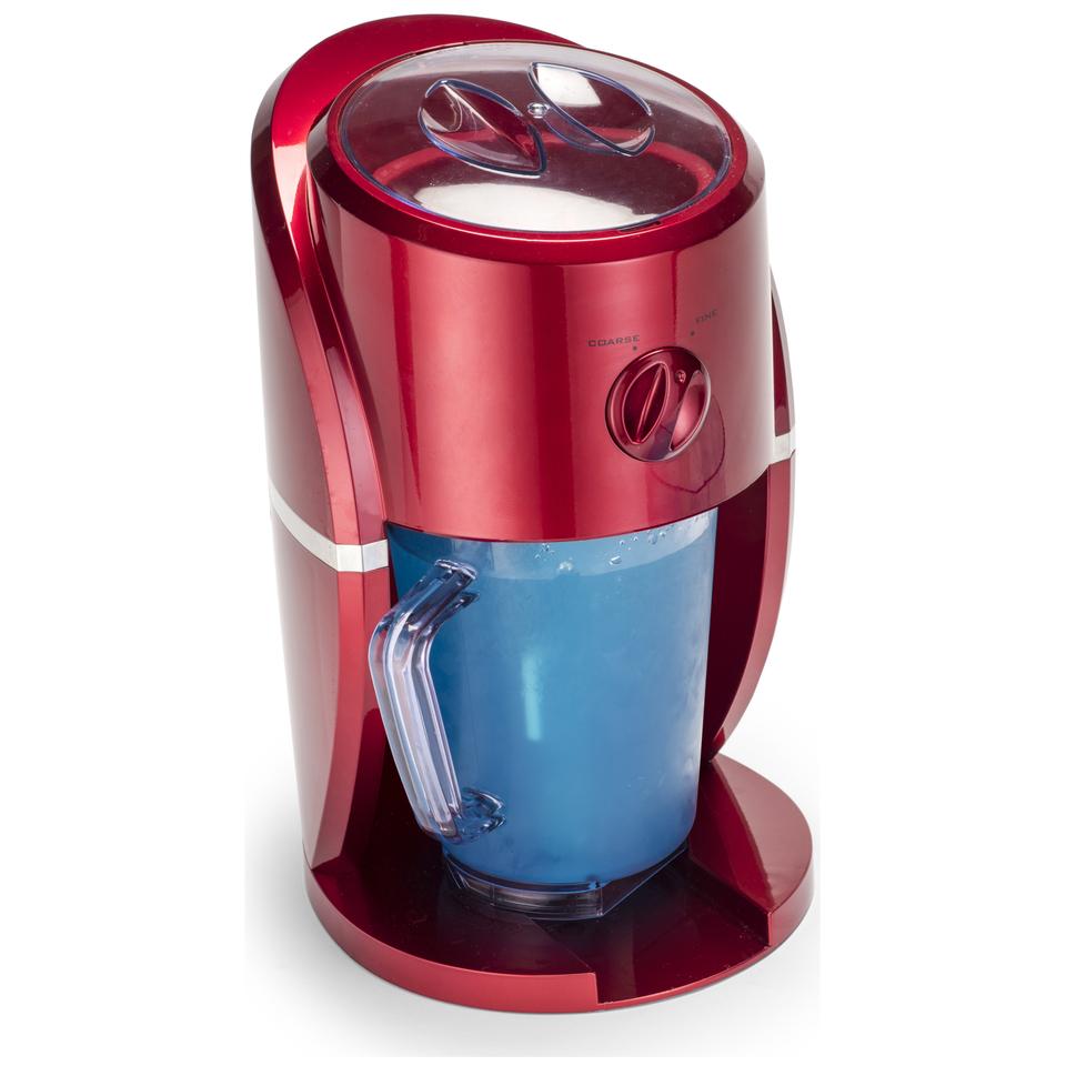 Gourmet Gadgetry Retro Diner Frozen Drinks and Slush Maker - Retro Red - 1L