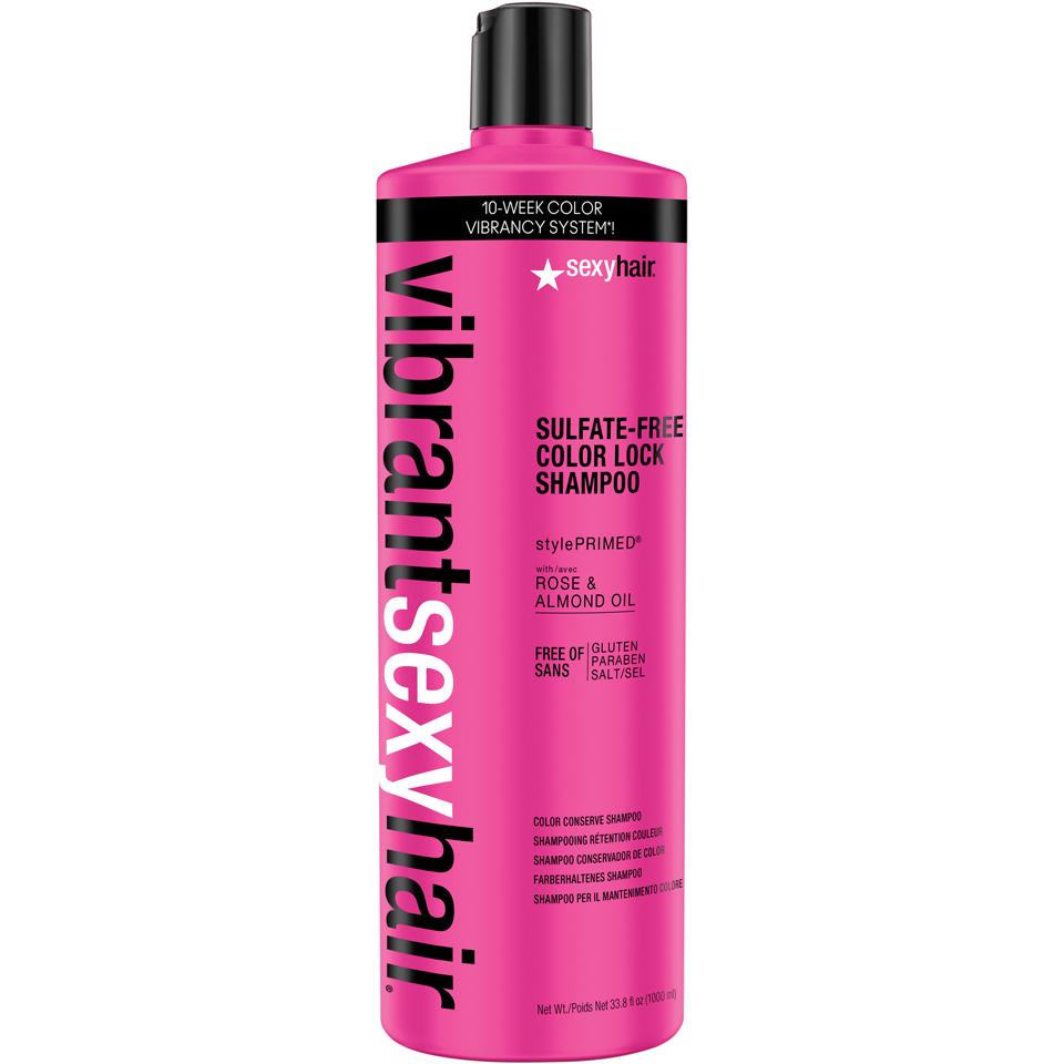 Sexy Hair Vibrant Color Lock Shampoo 1000 ml