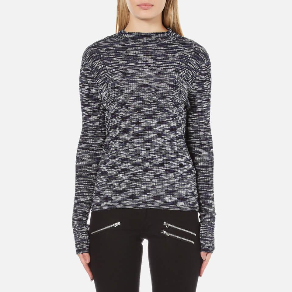 vero-moda-women-adinah-long-sleeve-funnel-neck-top-navy-blazer-xs-navy