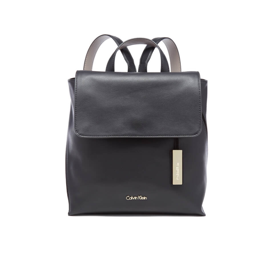 calvin klein womens julia backpack black