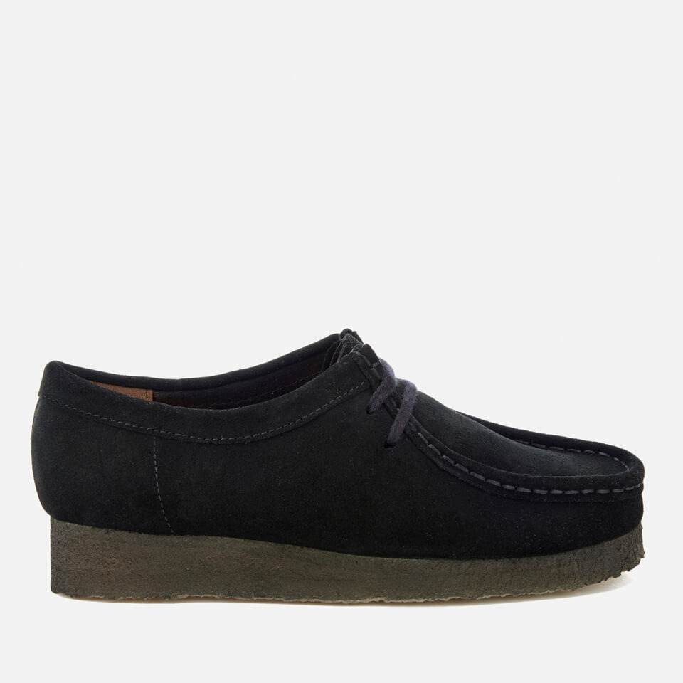 Clarks Originals Women's Wallabee Shoes - Black Suede | FREE UK Delivery |  Allsole