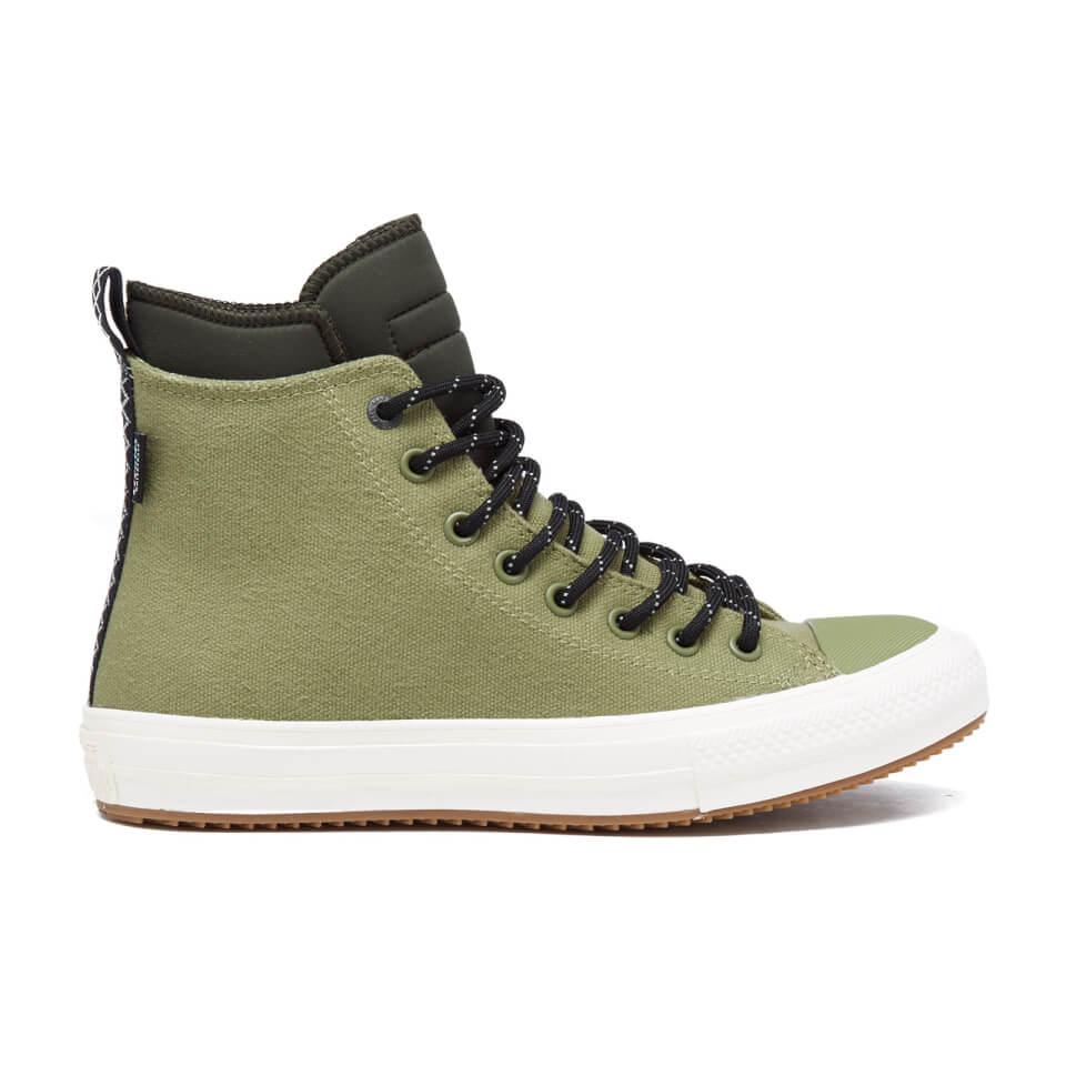 2e41840fab0 Converse Men s Chuck Taylor All Star II Shield Canvas Hi-Top Trainers -  Fatigue Green Green Onyn Egret Mens Footwear