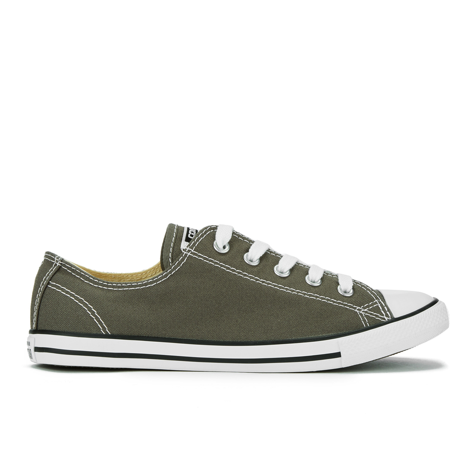 93dcd597bc7ed6 UPC 886951014019 product image for Converse Women s Chuck Taylor All Star  Dainty Ox Trainers - Charcoal