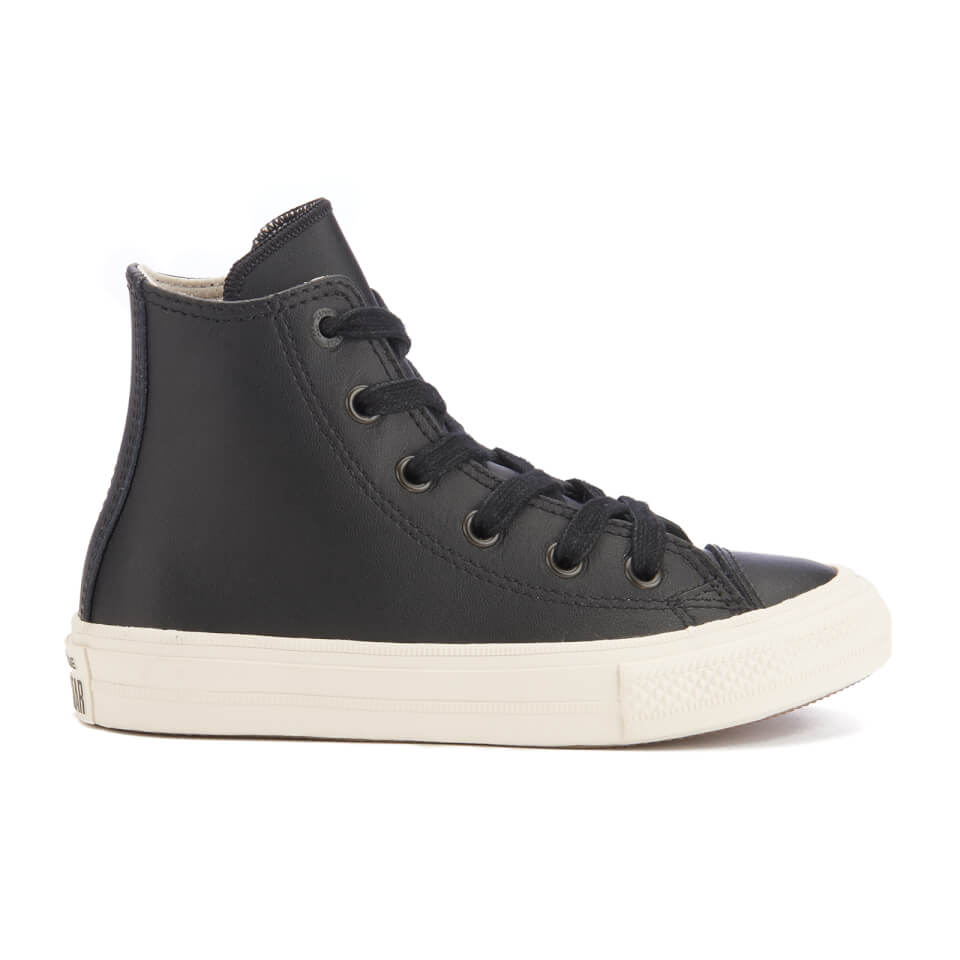 converse-kids-chuck-taylor-all-star-ii-hi-top-trainers-blackparchmentalmost-black-10-kids