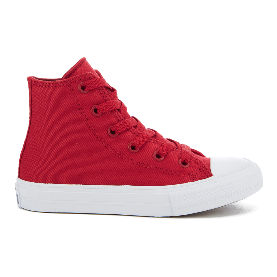 converse-kids-chuck-taylor-all-star-ii-tencel-canvas-hi-top-trainers-salsa-redwhitenavy-15-kids