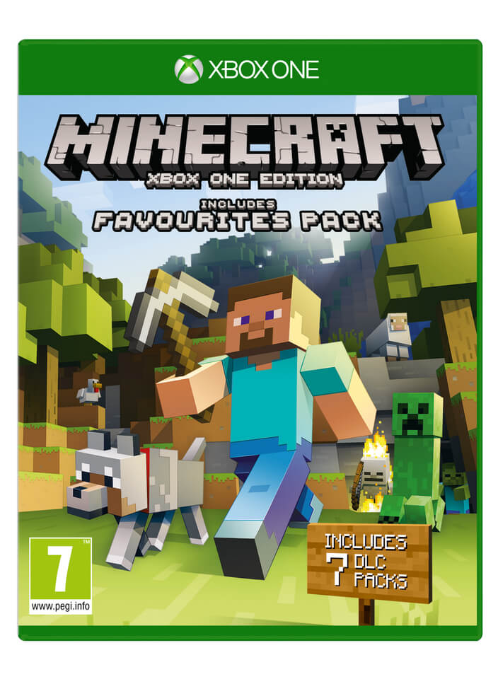 minecraft-xbox-one-edition-favourites-pack