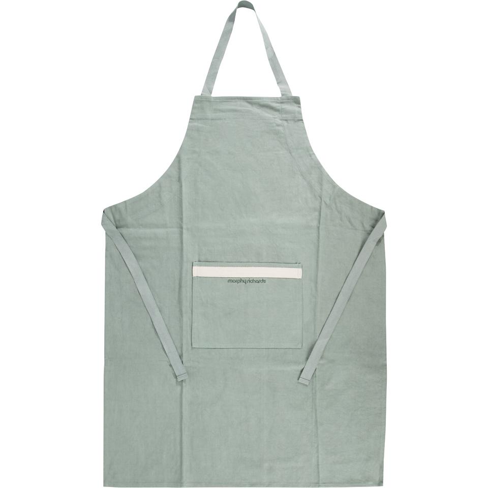 morphy-richards-973504-adjustable-apron-sage-green