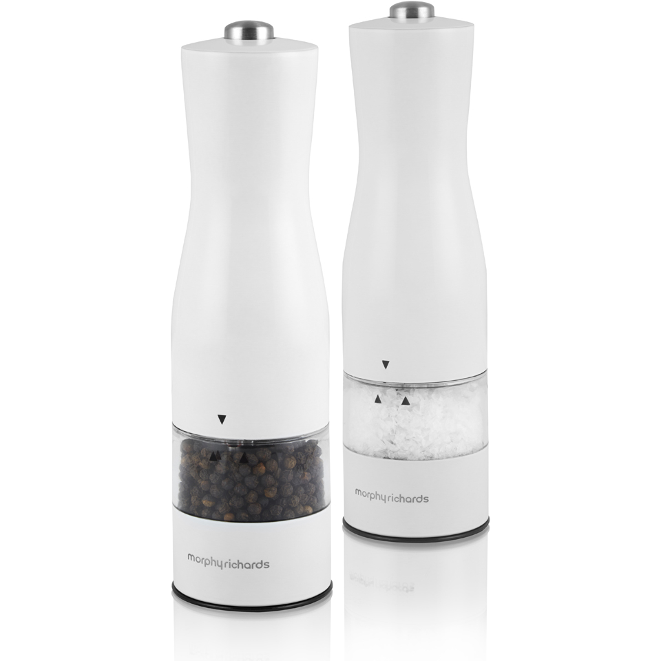 morphy-richards-974234-electric-saltpepper-mill-white