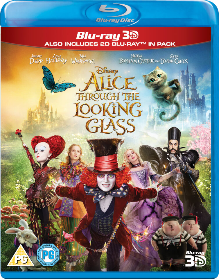 Alice Through The Looking Glass 3D (Includes 2D Version)