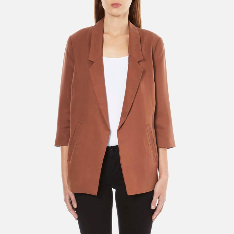 selected-femme-women-gavina-34-sleeve-blazer-rustic-brown-34-6