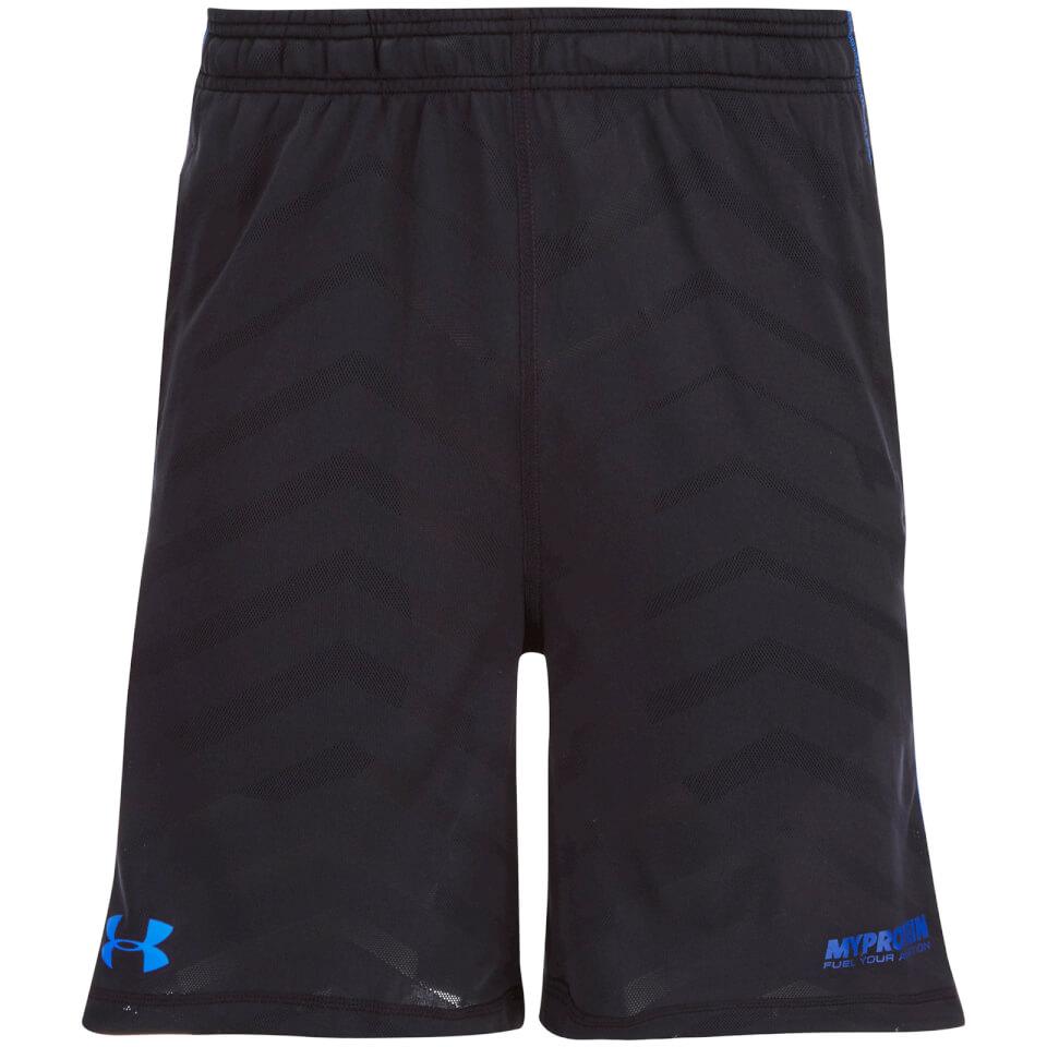 Foto Under Armour Men's Raid Exo 8 Inch Shorts - Black/Blue - L