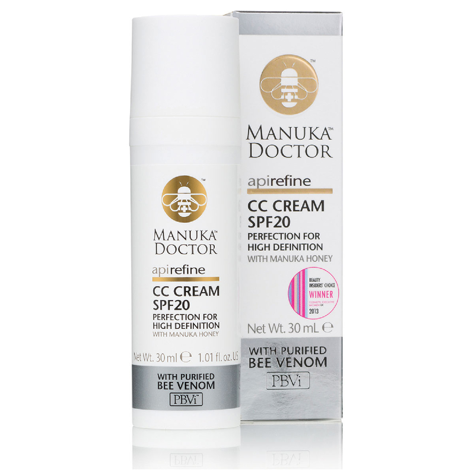 Manuka Doctor ApiRefine CC Cream with SPF20 30ml 11291275