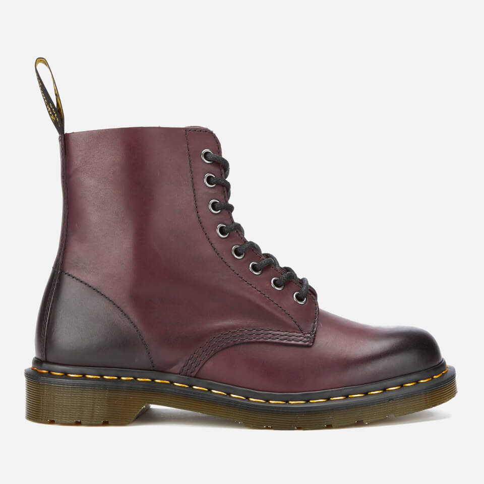 dr martens men 39 s core pascal leather 8 eye lace up boots. Black Bedroom Furniture Sets. Home Design Ideas
