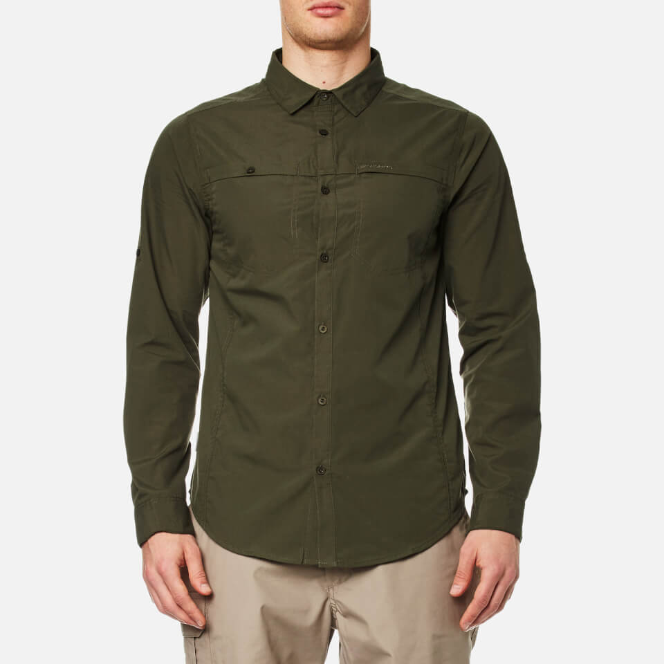craghoppers-men-kiwi-trek-long-sleeve-shirt-parka-green-s