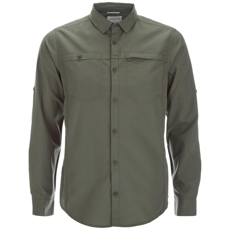 craghoppers-men-kiwi-trek-long-sleeve-shirt-parka-green-s