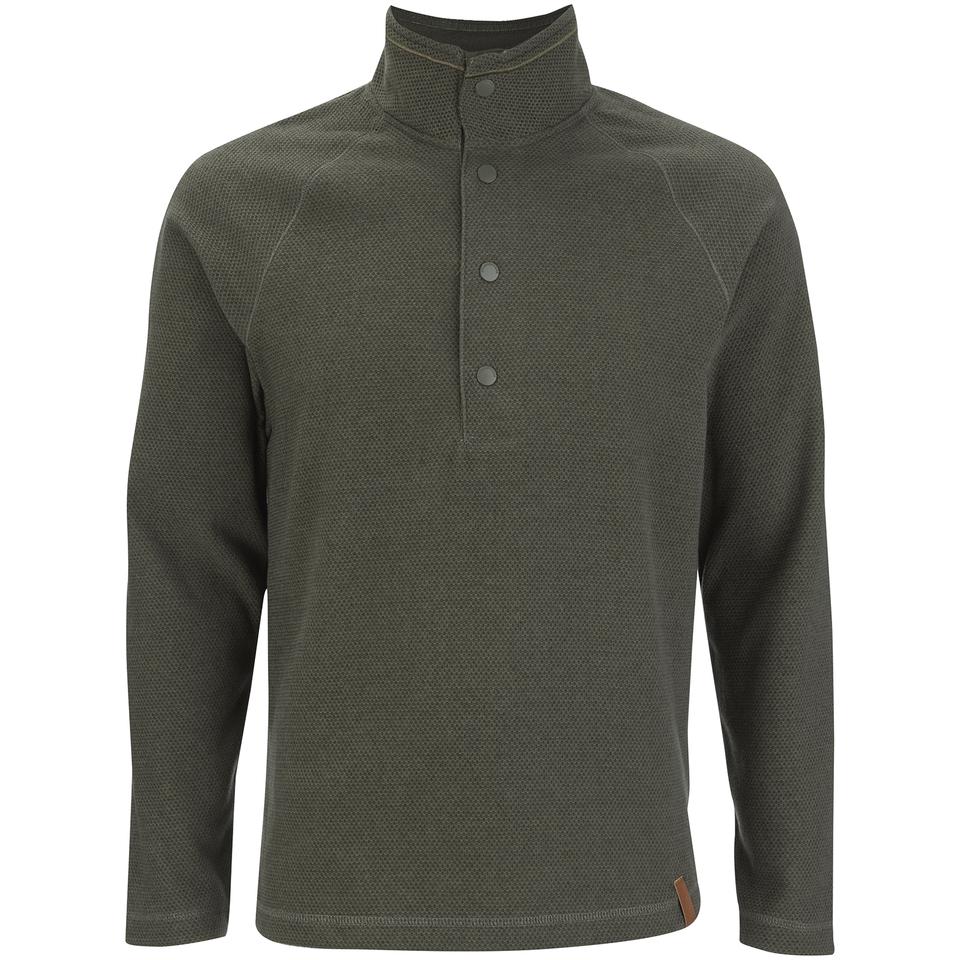 craghoppers-men-reston-half-button-fleece-parka-green-s