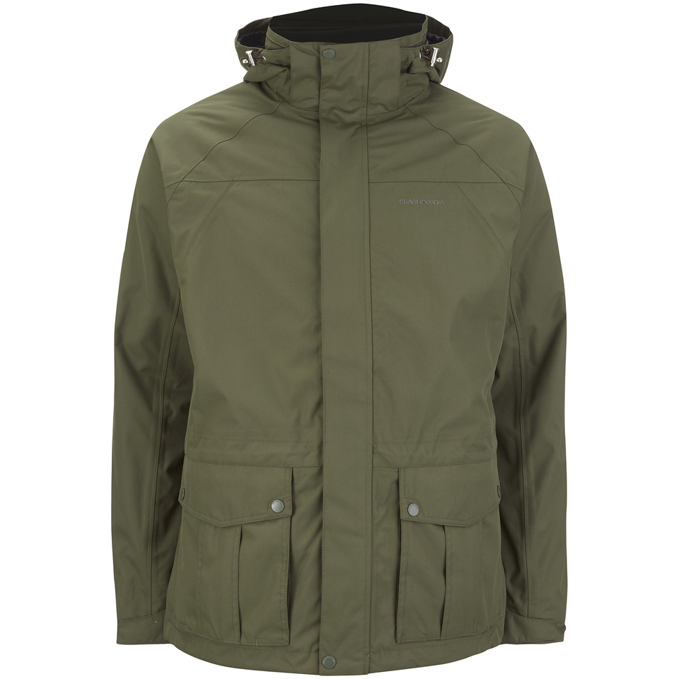 Craghoppers Mens Kiwi 3 In 1 Jacket Parka Green M