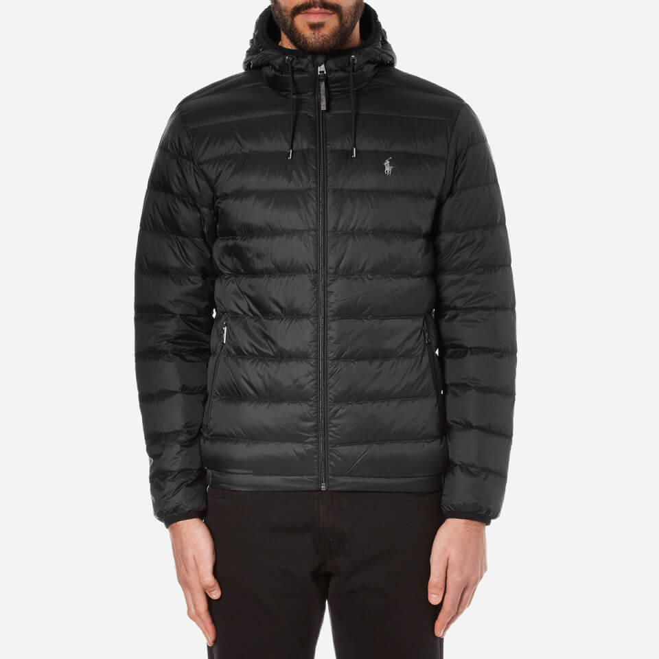 polo ralph lauren men 39 s lightweight down jacket polo black free uk delivery over 50. Black Bedroom Furniture Sets. Home Design Ideas